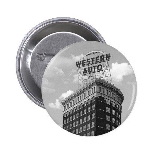 Western Auto Half Cylinder Building Pin