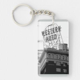 Western Auto Keychain