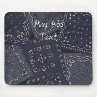 Western Bandana Collage Mousepad