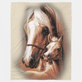 Western Blondes Fleece Blanket