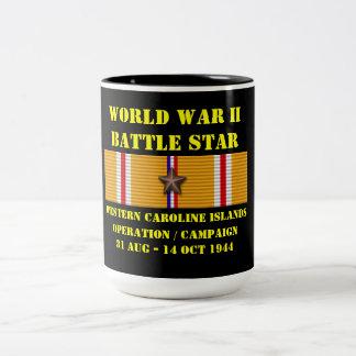 Western Caroline Islands Operation Campaign Two-Tone Coffee Mug