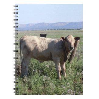 Western Cattle Herd Rural Landscape Scene Notebook