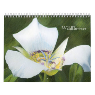Western CO Wildflower Drawings Calendar