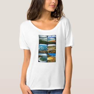 Western Coast of Europe Beaches T-Shirt