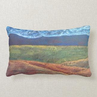 Western Colorado Landscape Lumbar Pillow