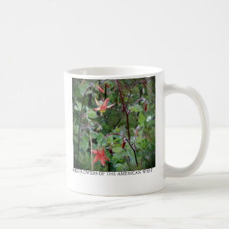 Western Columbine Coffee Mug