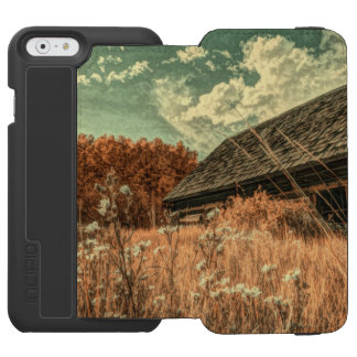 western country field wildflower farm Old Barn Incipio Watson™ iPhone 6 Wallet Case