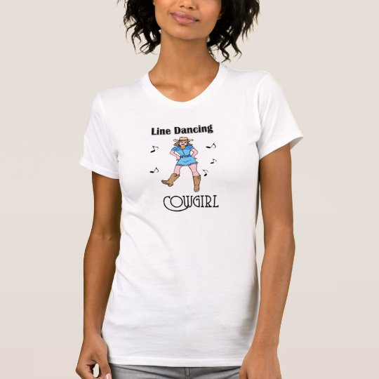 "Western Country ""Line Dancing Cowgirl"" T Shirt"