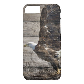 Western Country Patriotic USA American Bald Eagle Case-Mate iPhone Case