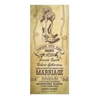 Western Theme Wedding Invitations Amp Announcements