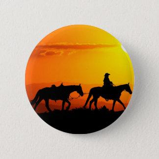 Western cowboy-Cowboy-texas-western-country 2 Inch Round Button