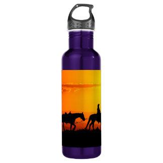 Western cowboy-Cowboy-texas-western-country 710 Ml Water Bottle