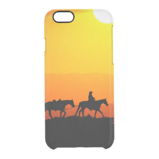 Western cowboy-Cowboy-texas-western-country Clear iPhone 6/6S Case