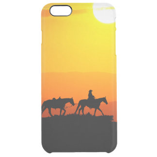 Western cowboy-Cowboy-texas-western-country Clear iPhone 6 Plus Case
