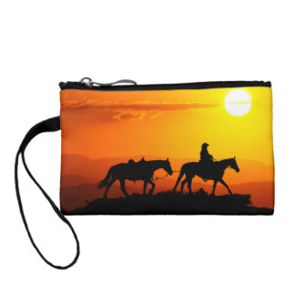 Western cowboy-Cowboy-texas-western-country Coin Purse
