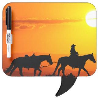 Western cowboy-Cowboy-texas-western-country Dry Erase Board
