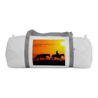 Western cowboy-Cowboy-texas-western-country Gym Bag