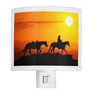 Western cowboy-Cowboy-texas-western-country Nite Lights