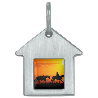 Western cowboy-Cowboy-texas-western-country Pet Tag
