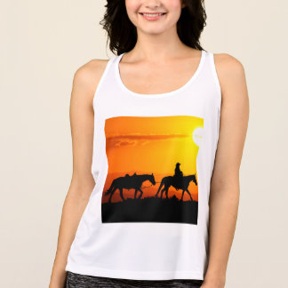 Western cowboy-Cowboy-texas-western-country Tank Top