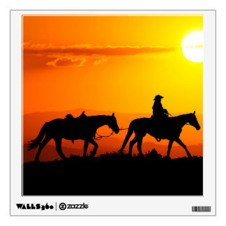 Western cowboy-Cowboy-texas-western-country Wall Sticker