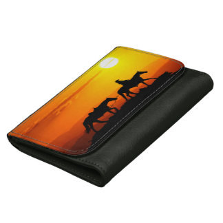 Western cowboy-Cowboy-texas-western-country Wallets For Women