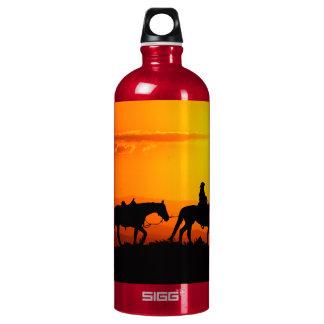 Western cowboy-Cowboy-texas-western-country Water Bottle