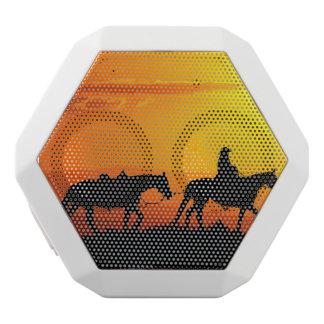 Western cowboy-Cowboy-texas-western-country White Bluetooth Speaker