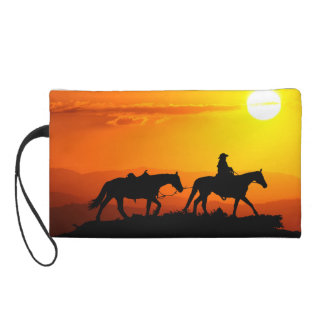 Western cowboy-Cowboy-texas-western-country Wristlet