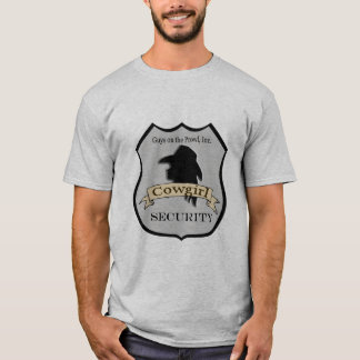 "Western ""Cowgirl Security"" Shirt"