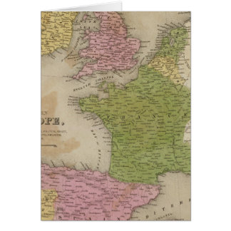 Western Europe Card