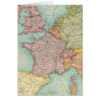 Western Europe communications Greeting Cards