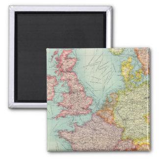 Western Europe communications Fridge Magnets