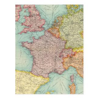 Western Europe communications Postcard
