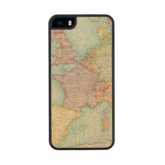 Western Europe communications Carved® Maple iPhone 5 Slim Case