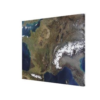 Western Europe Gallery Wrap Canvas