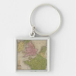 Western Europe Keychain