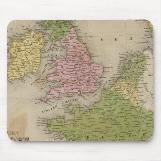 Western Europe Mouse Pad