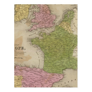 Western Europe Postcard