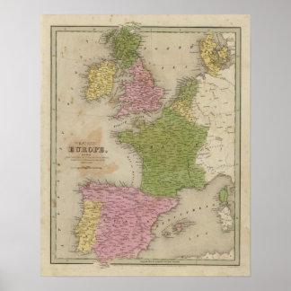 Western Europe Posters