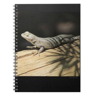 Western Fence Lizard Spiral Notebook