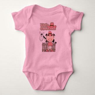 Western Fun Little Cowgirl w/Horse Shirt