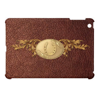 Western Gold Belt Buckle Design Cover For The iPad Mini