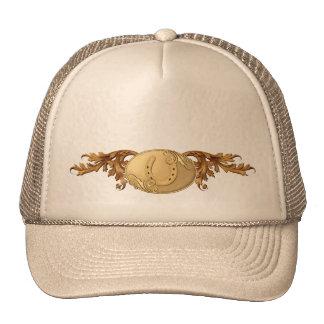 Western Gold Belt Buckle Trucker Hat