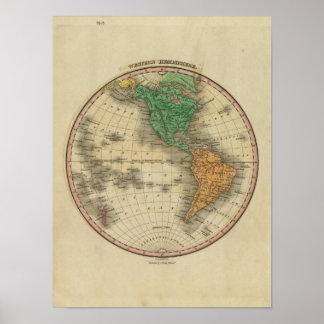 Western Hemisphere 15 Poster