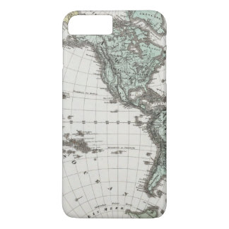 Western Hemisphere Atlas Map iPhone 7 Plus Case