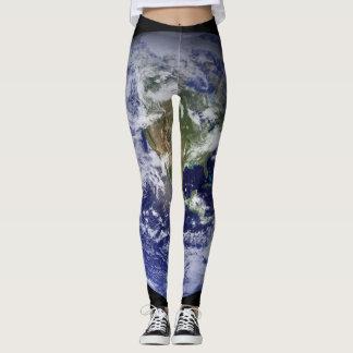 Western Hemisphere Earth Leggings