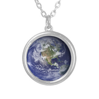 Western Hemisphere, Planet Earth Necklace
