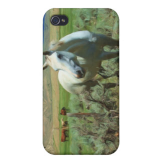 Western Horse Painting  iPhone 4 Case