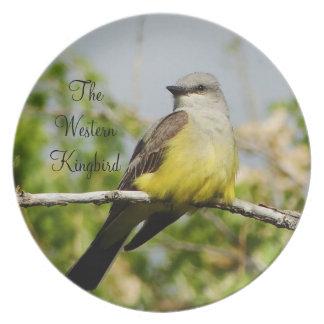 Western Kingbird Plate